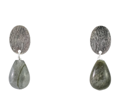 RILEY BURNETT | Smokey Drop Earrings