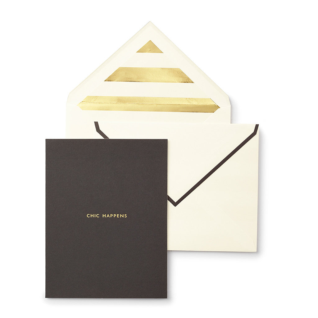 KATE SPADE | Chic Happens Greeting Card