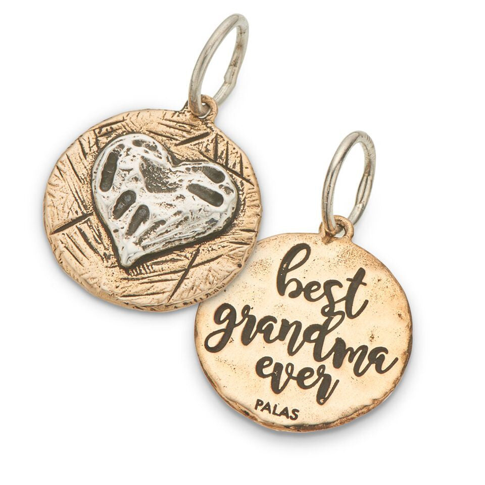 PALAS JEWELLERY | Best Grandma Ever Charm (2 Sided)