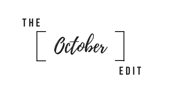 The October Edit