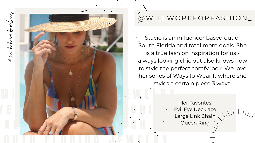 Influencers As Seen On Will Work For Fashion Ways To Wear It Jewelry Style