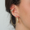 Stevie double hoop dainty hoop ear stack everyday hoop tribe & co black friday sale