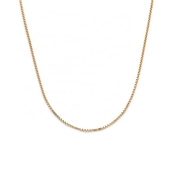 Layla Box Chain dainty vermeil necklace stack black friday sale tribe & co