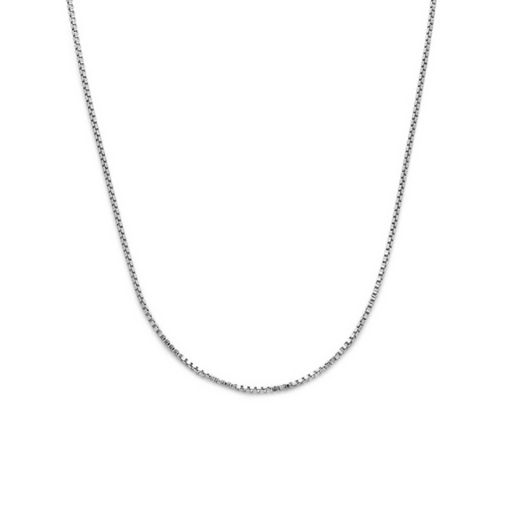 Layla Box Chain dainty sterling silver necklace stack black friday sale tribe & co