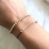linked bracelet bracelet stack adjustable gold bracelet
