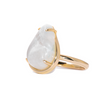 Muse ring statement ring moonstone ring cocktail ring