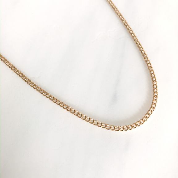 Villa necklace layering chain