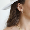 Mia Statement earrings gold silver gifts for her