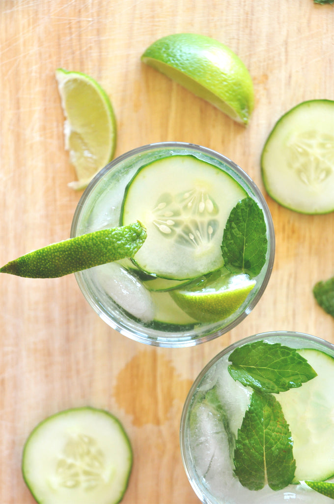 Summer Refreshments: Cucumber Cooler Cocktail
