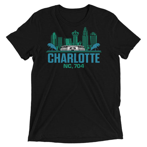Charlotte, NC 704 Short Sleeve T-shirts | 9th Wave Apparel - 9thwaveapparel