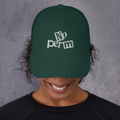 No Perm Dad Hat | 9th Wave Apparel