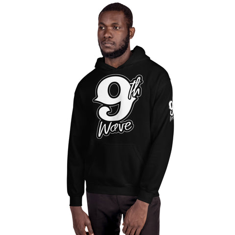 9th Wave Hooded Sweatshirt | 9th Wave Apparel - 9thwaveapparel