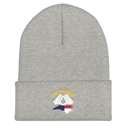 The Triangle, NC Cuffed Beanie | 9thwaveapparel