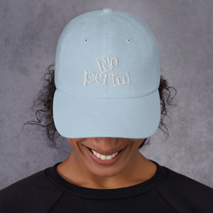 No Perm Dad Hat | 9th Wave Apparel - 9thwaveapparel