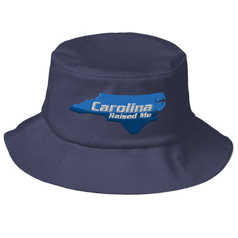 Carolina Raised Me Old School Bucket Hat | 9th Wave Apparel
