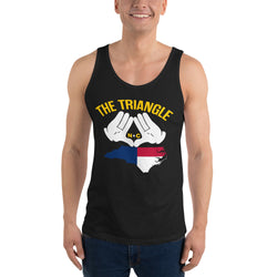 The Triangle NC Unisex Tank Top | 9th Wave Apparel