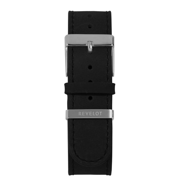20' Black Long Leather Strap - REVELOT