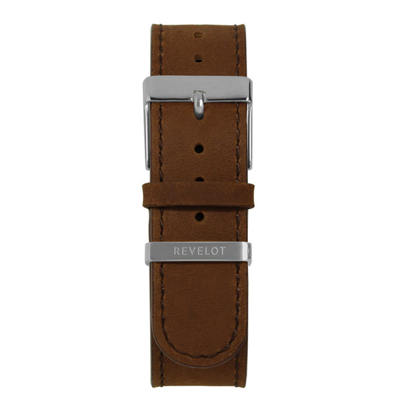 20' Brown Long Leather Strap - REVELOT