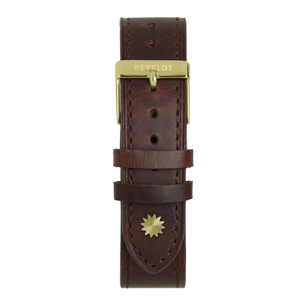 20' cognac Leather Strap - REVELOT