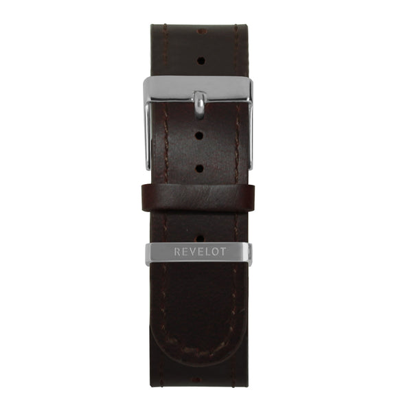 22' Congac Long Leather Strap - REVELOT