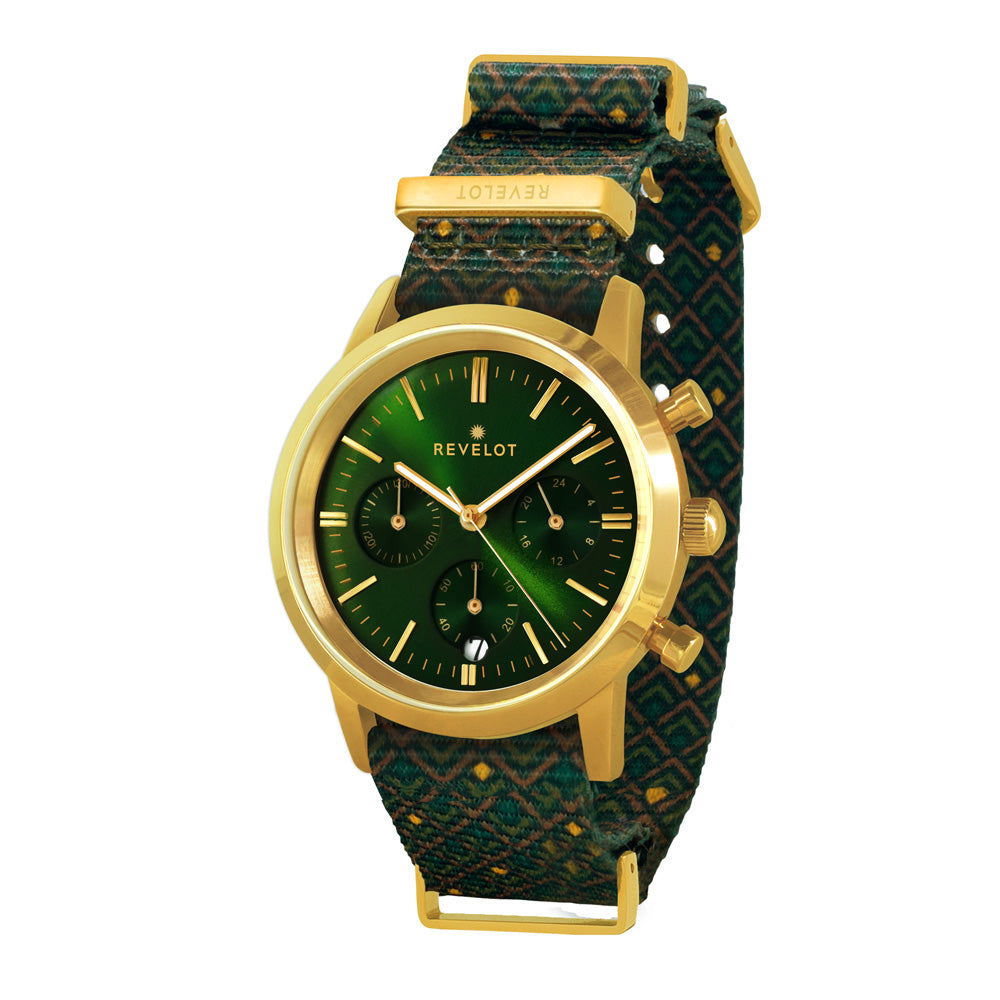 R4 Classic Metallic Green/Gold/Gold