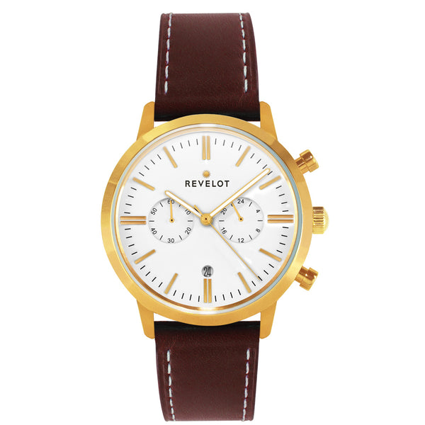 43' White/Gold Chronograph - REVELOT