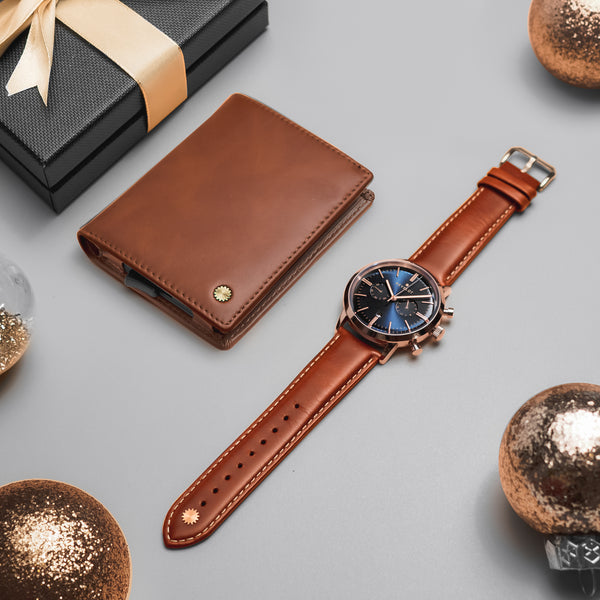Bundle Men's Chrono & Smart Wallet