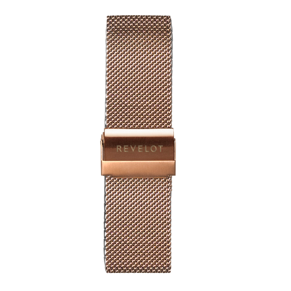 Rose Gold Mesh Band