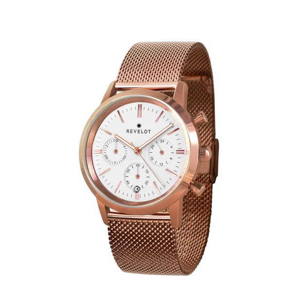 R4 Classic White/Rose Gold/Rose Gold