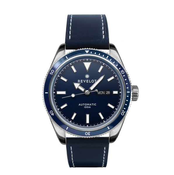 44' Blue/Silver Automatic