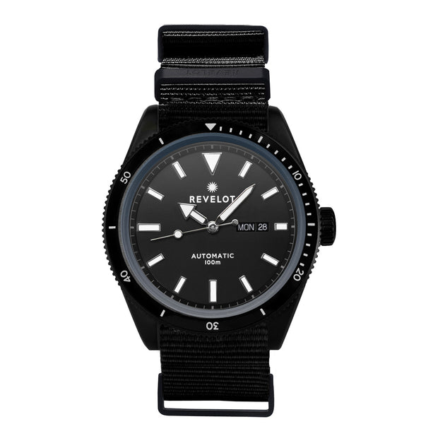 44' Charcoal/Black Automatic