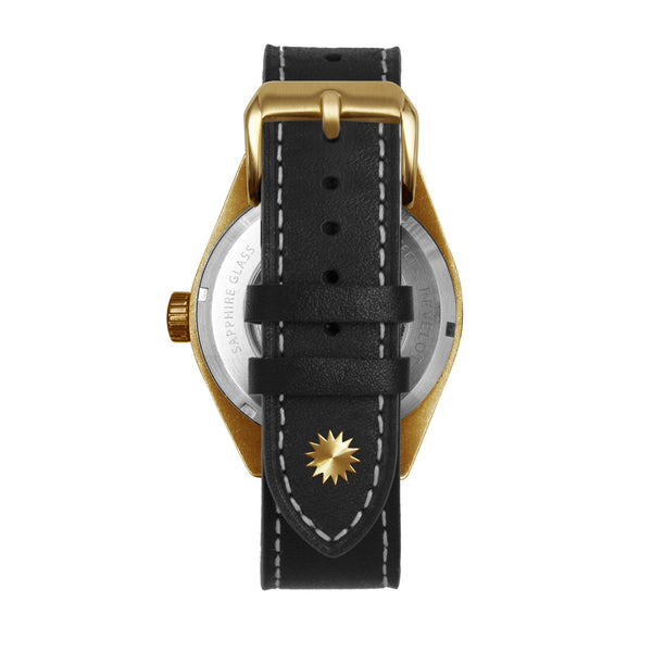 R6 Diver Charcoal/White/Brass