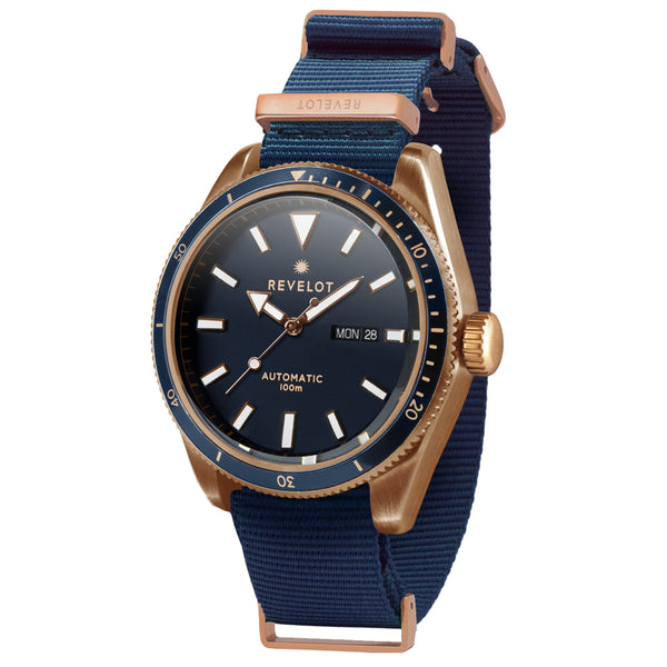 R6 Diver Blue/White/Rose Gold