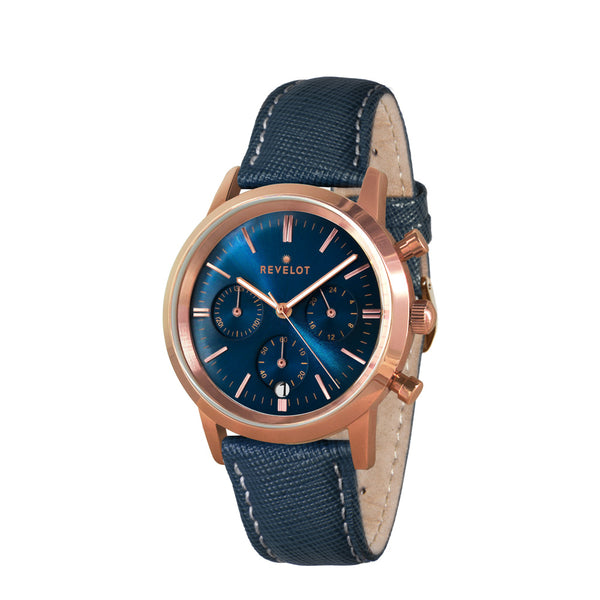 R4 Metallic Blue/Rose Gold/Rose Gold