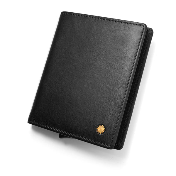 Classic Black Smart Wallet / W1