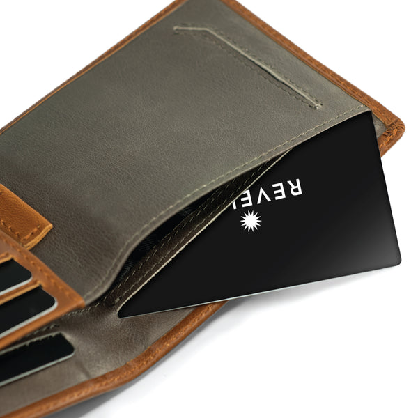 Classic Brown Slim Wallet / W2