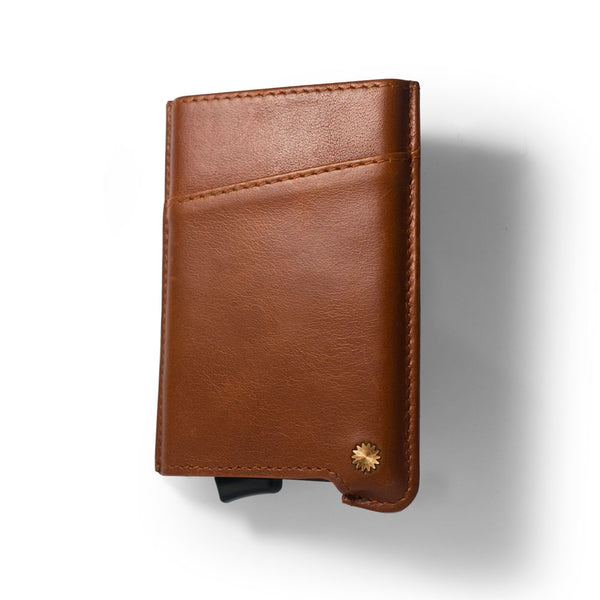 Classic Brown Smart Wallet Mini / W3
