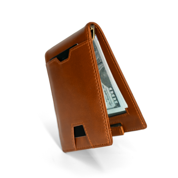 Classic Brown Slim Wallet Pro / W4