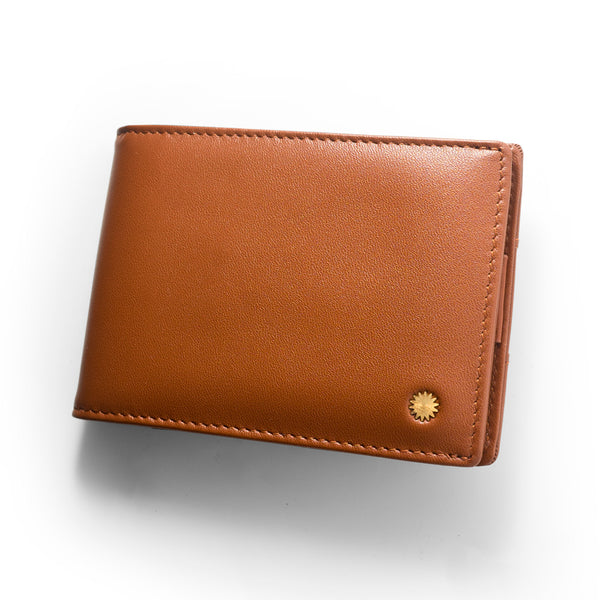 Nappa Brown Slim Wallet Pro / W4