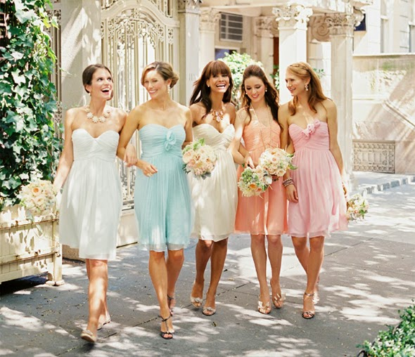 Mismatched Bridesmaid Dresses------Best Choice for Your Ladies.