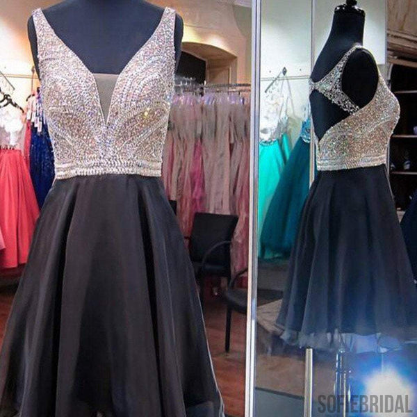 Gorgeous sparkly unique casual cocktail homecoming prom gown dresses, SF0072