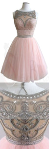 Dark pink Bateau gorgeous Stunning casual homecoming prom gown dresses, BD00154