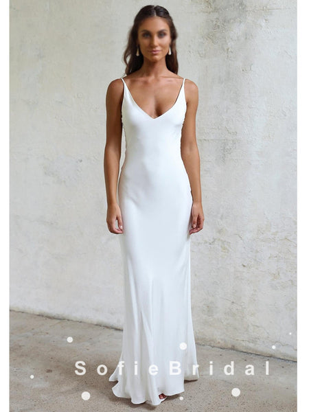 Online Charming Beaded Cap Sleeve Chiffon Long White Dresses For Wedding Party Gown, WG20