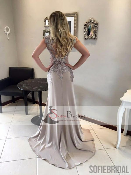 Luxury Rhinestone Beaded Prom Dresses, Mermaid Long Prom Dresses, Prom Dresses, PD0412
