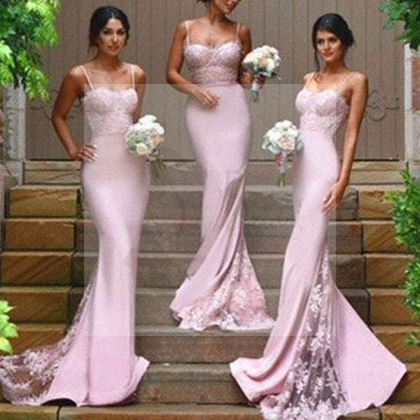 2016 New Design Online Sexy Mermaid Sweet Heart Lace Long Bridesmaid Dresses, SF0008