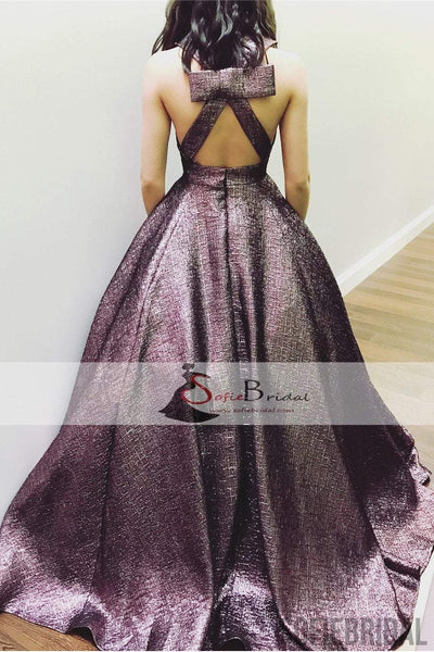 V-neck A-line Gorgeous, Elegant Prom Dresses, Affordable Prom Dresses, Prom Dresses, PD0434