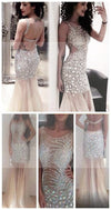 Sexy Mermaid Rhinestone Shinning Prom Dresses, Evening Dresses, Formal Dress