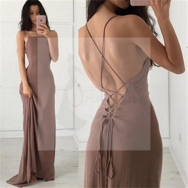 New Arrival Prom Dresses, Spaghetti Straps Prom Dresses, Fashion Dresses, Charming Prom Dresses, Simple Prom Dresses, Cocktail Prom Dresses, Evening Dresses, Long Prom Dress, Prom Dresses Online, PD0154