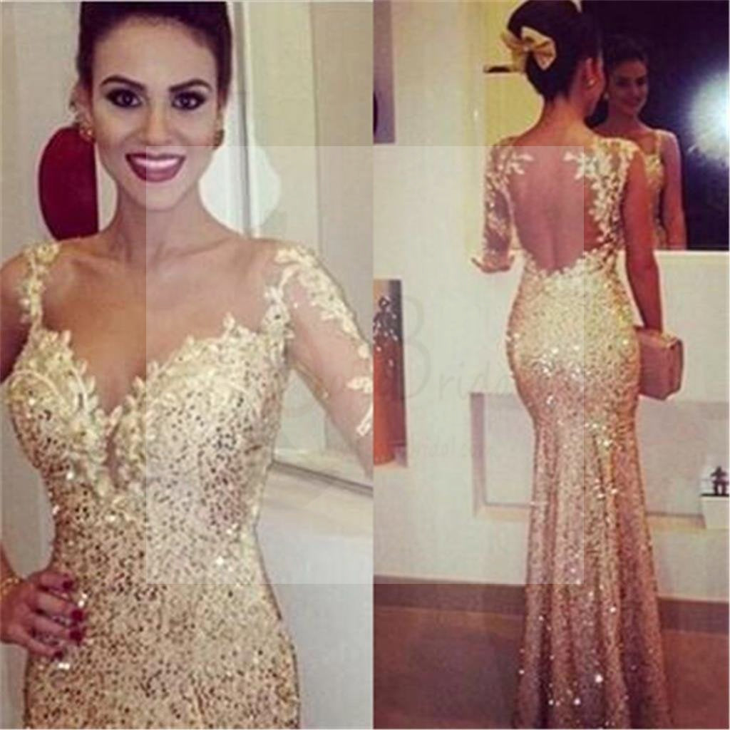 Gold Prom Dresses, Sexy Prom Dresses, Mermaid Prom Dresses, Elegant Prom Dresses, Party Dresses, Cocktail Prom Dresses, Evening Dresses, Long Prom Dress, Prom Dresses Online,PD0178