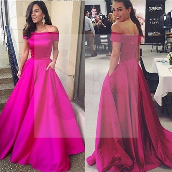 Off Shoulder Prom Dresses, A-line Dresses, Simple Prom Dresses, Cheap Prom Dresses, Party Dresses, Cocktail Prom Dresses, Evening Dresses, Long Prom Dress, Prom Dresses Online, PD0188